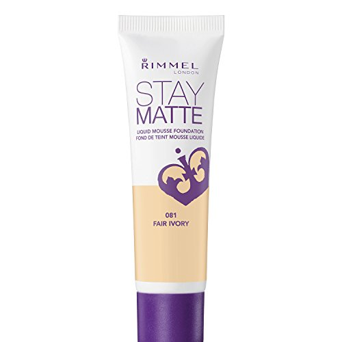 Rimmel Stay Matte Foundation, Fair Ivory, 1 Fluid Ounce (Fair Matte)