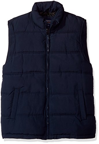 - Smith's Workwear Men's Puffer Vest, Navy, X-Large