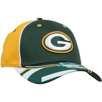 Green Bay Packers Field Goal 9FORTY Adjustable Hat - Green/Gold by New Era