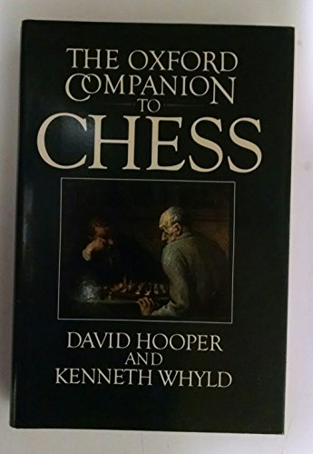 Oxford Companion to Chess - Mesa Biscuit Shopping Results