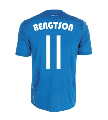 資源壊れた汚物Joma BENGTSON #11 Honduras Away Jersey World Cup 2014/サッカーユニフォーム ホンジュラス代表 アウェイ用 ワールドカップ2014 背番号11 ベンクトソン