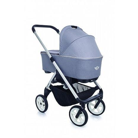 Easywalker - Chasis para coche de paseo mini stroller new silver rueda b gris/blanco: Amazon.es: Bebé