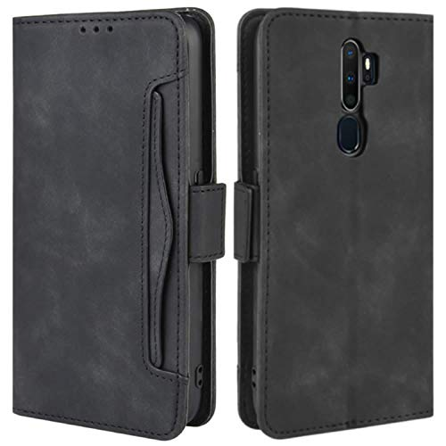 HualuBro Oppo A9 2020 Case, Oppo A5 2020 Case, Magnetic Full Body Protection Shockproof Flip Leather Wallet Case Cover…