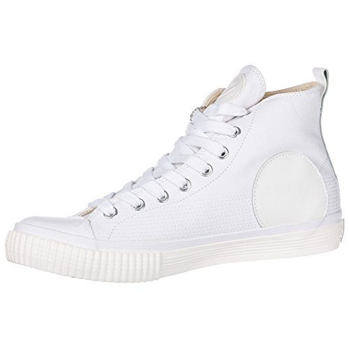 Blanc Sneakers Chaussures Mcq Homme Alexander Mcqueen Plimsoll Hautes Baskets RUq8PxU