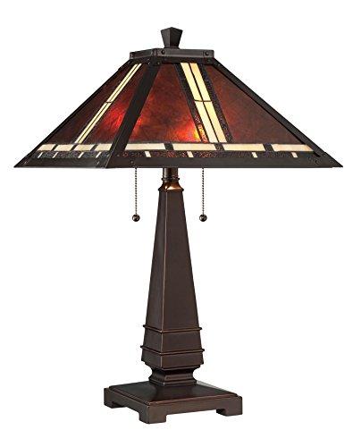 HomeRoots Warehouse of Tiffany T18275TGRA Dragonfly Table Lamp