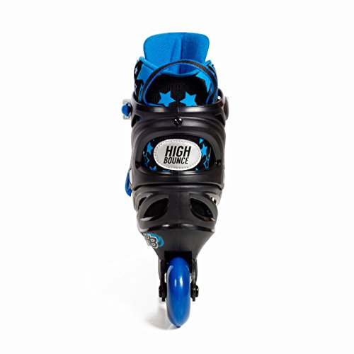 High Bounce Adjustable Inline Skate (Blue, Large (6-9) ABEC 7) by High Bounce (Image #3)