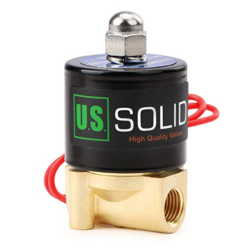 SOLID 1//2 Stainless Steel Electric Solenoid Valve 12V DC G Thread Normally Closed VITON from U.S