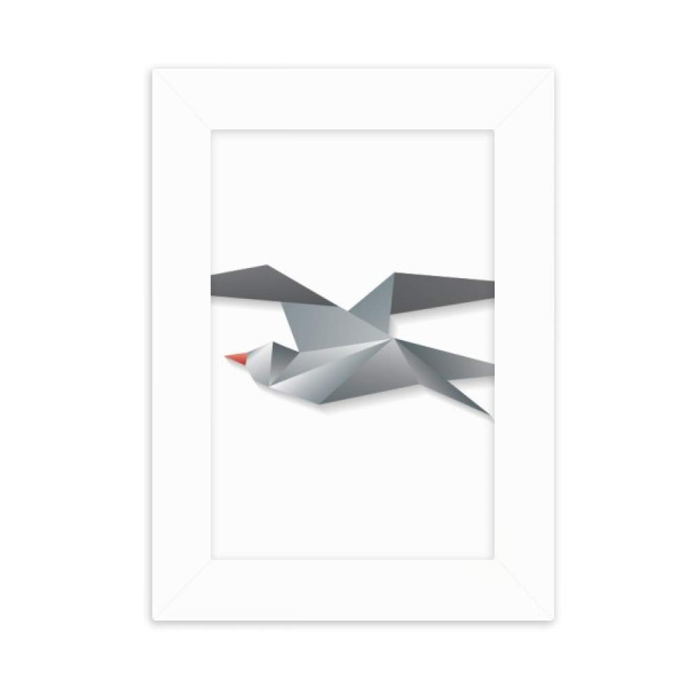 Amazon.com: DIYthinker Geometric Abstract Crow Origami ...