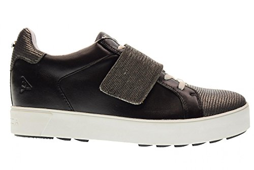 RSW04 Zapatillas roseline NEGRO DE Interna Apepazza Negro Bajas a Deporte Mujeres Zapatos de Cadena Las de Cu de nqwR7B