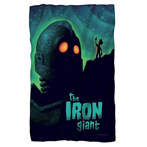 Iron Giant Animated Adventure Movie Look To The Stars Polar Fleece Blanket by 2Bhip