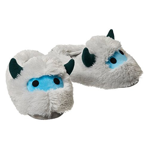 U.C.C. Distributing Official Overwatch Plush Mei Yeti Slippers in Package from Blizzard Entertainment - Size XS