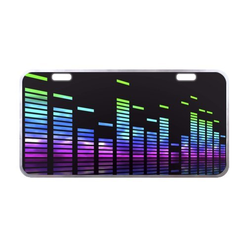 [Music License Plate with High Quality-11.8
