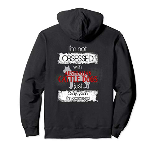 Australian Cattle Dogs Lover Hoodie for ACD Dog Mom or Dad ()