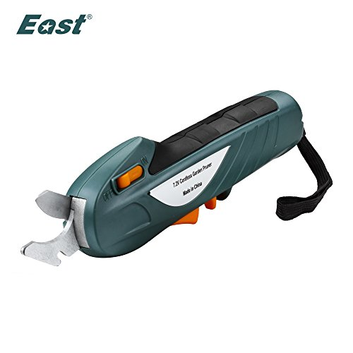 EAST Power Tools 7.2V li-ion battery Cordless Secateur Branch Cutter electric fruit pruning tool shear to ol fruit ET1002 by Generic