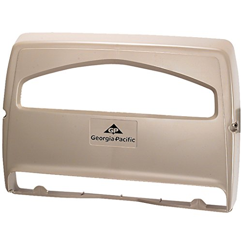 Georgia-Pacific Safe-T-Gard 57737 Grey 1/2 Fold Seatcover Dispenser by Georgia-Pacific