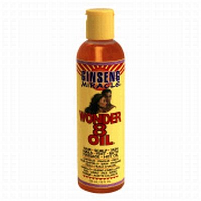 Ginseng Miracle Wonder 8 Oil 8 oz Cheveux / Bath / clou / Corps