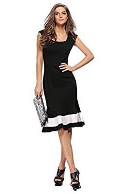 Zhaoyun Womens Vintage Evening Fishtail Cocktail Business Party Dresses