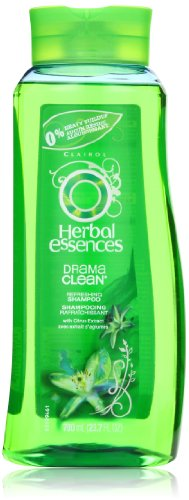 Herbal Essences Drama Clean Refreshing Hair Shampoo 23.7 Fl Oz (Pack of 3)