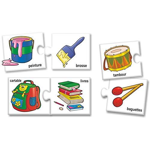 StonKraft Cosas Que Van Juntas (francés) | Aprender francés | Juegos de Aprendizaje | Juegos educativos y Juguetes | Juegos a Juego para niños y niños ...