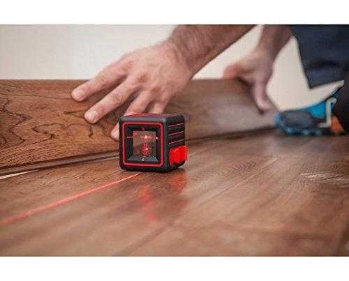 AdirPro Cube Cross Line Laser Level Home, Red/Black by AdirPro (Image #2)