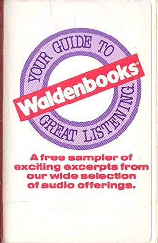 (Waldenbooks Free Audio Sampler Cassette Tape)
