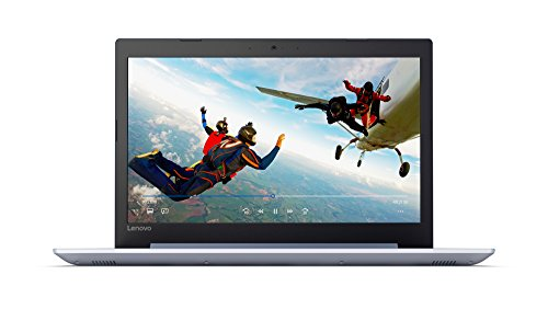 "2018 Lenovo ideapad 320 15.6"" Laptop, Windows 10, Intel Celeron N3350 Dual-Core Processor up to 2.4GHz, 4GB RAM, 1TB Hard Drive, DVD-RW, WIFI, Bluetooth, Webcam (Denim Blue)"
