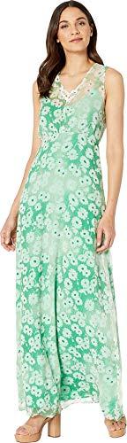 Juicy Couture Women's Washed Daisy Sleeveless Maxi Dress Botanical Washed 4 ()