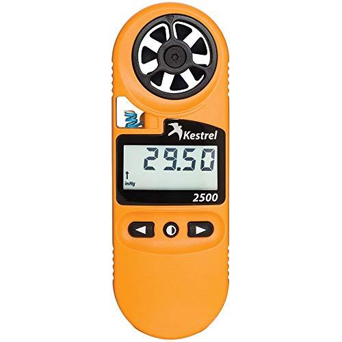 Kestrel 2500 Pocket Weather Meter Light Orange
