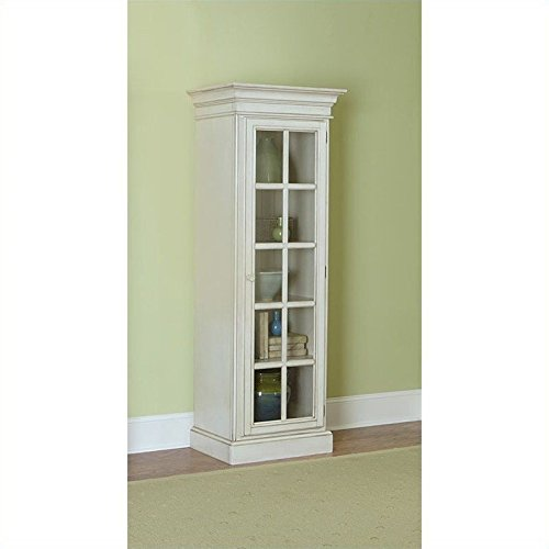 Hillsdale Furniture 5265-899 Pine Island Library Cabinet with 5 Wooden Shelves 2 (Pine Cabinet Doors)