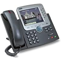 Cisco CP-7970G SIP Phone, Color LCD Screen (SIP Loaded)