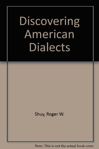 Discovering American Dialects