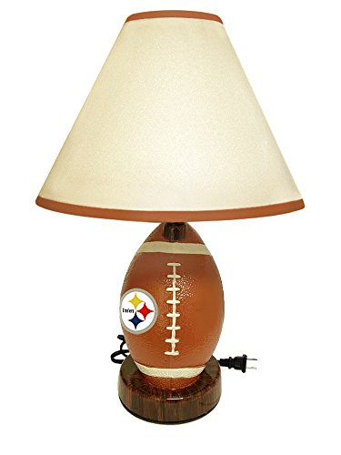 - Football Shaped Desk Lamp Featuring Your Favorite Football Team! (Steelers)