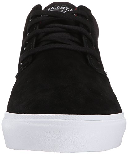 Lakai Hombres Mj Mid Action Sports Suede Negro