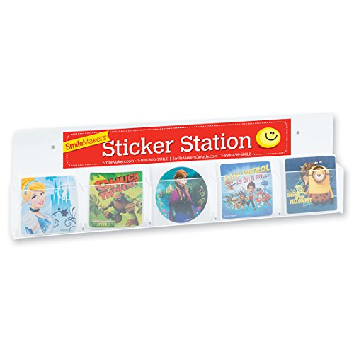 (SmileMakers Sticker Box Rack-Prizes 1 per Pack)