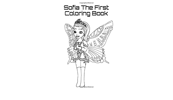 - Amazon.com: Sofia The First Coloring Book (9781792815218): Girl, Monster:  Books