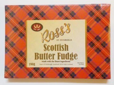 Scottish Butter Fudge From Ross