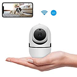 Veroyi Ip Camera 1080p Wireless Home Security Camera With Night Vision Motion Detection Remote Monitor Auto Motion Tracking Tech For Baby Elder Pet Nanny Monitor