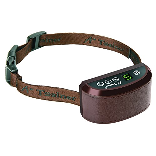[NEW 2017 MODEL] Rechargeable Bark Collar – SMART Detection Dual Anti-Barking Modes: Beep+Vibration/Shock for Small, Medium, Large Dogs. 100% Waterproof. No-Bark Training & Control System