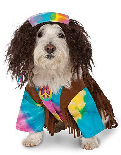 Hippie Pet Suit, Medium White -