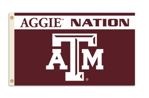 NCAA Texas A&M Aggies 3-by-5 Foot Nation Flag With Grommets