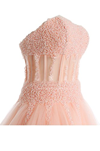Donna Sunvary Abito Orange sposa Pink da txfP6