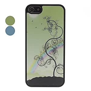 3D Effect Tree Pattern Durable Hard Case for iPhone 5/5S