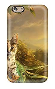 Hot INQjqhi6786jPgyj Case Cover Protector For Iphone 6- The Lady And The Cat