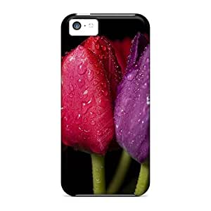 Back For Iphone 6 (4.5) Nature Flowers Flowers On A Black Background High-definition iphone Iphone Hard Cases With Fashion Design covers Runing's case