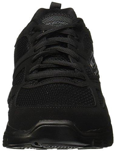 52635 AGOURA SKECHERS black Negro BURNS F0BqwB