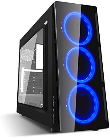 Spirit Of Gamer DEATHMATCH 5 - Gaming PC ATX Box - mATX - mITX ...