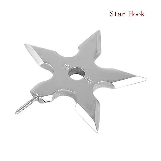 ShengJ® Creative Room Ninja - Colgador de Metal de Acero ...