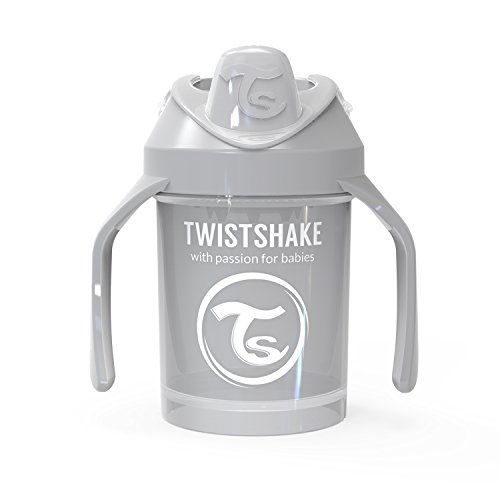 Twistshake Mini Cup 230ml / 8oz 4+m Pastel Grey