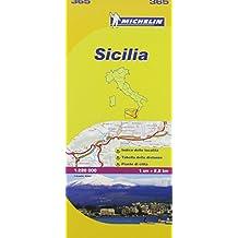 Michelin ITALY Sicilia Map 365