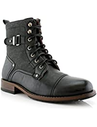 Mike Ankle Boots with Buckles | Dress Shoes | Fashion | Casual | Lace Up | Winter